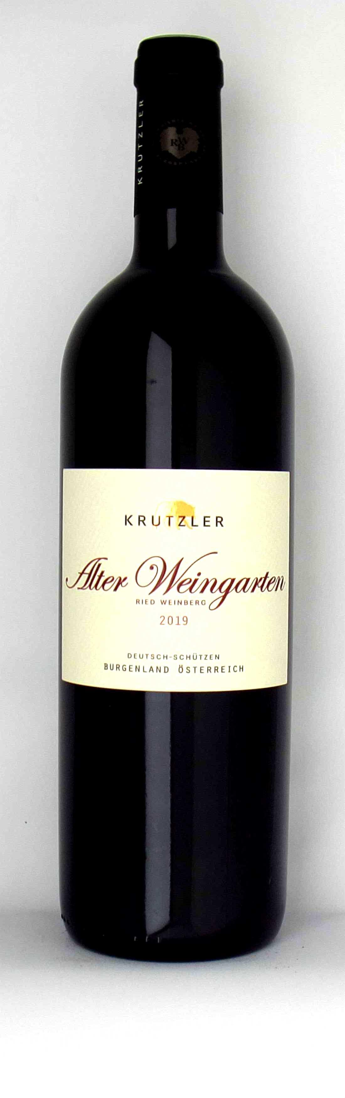 Vinothek Eisenberg Alter Weingarten 2019 Krutzler