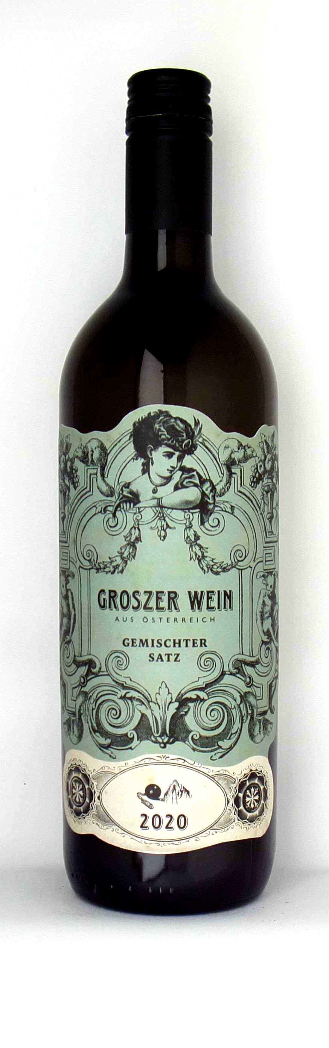 Vinothek Eisenberg Gemischter Satz 2020 Groszer Wein